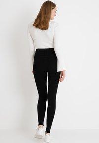 Dr.Denim Tall - MOXY HIGH WAIST - Jeans Skinny Fit - black - 2