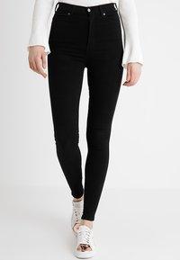 Dr.Denim Tall - MOXY HIGH WAIST - Jeans Skinny Fit - black - 0