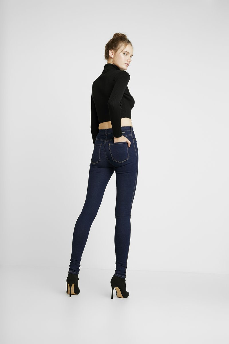 Dr.Denim Tall - Jeansy Skinny Fit - rinsed blue