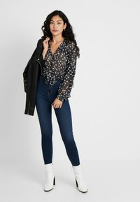 Dr.Denim Tall - SOLITAIRE - Jeans Skinny Fit - dark pacific blue - 1