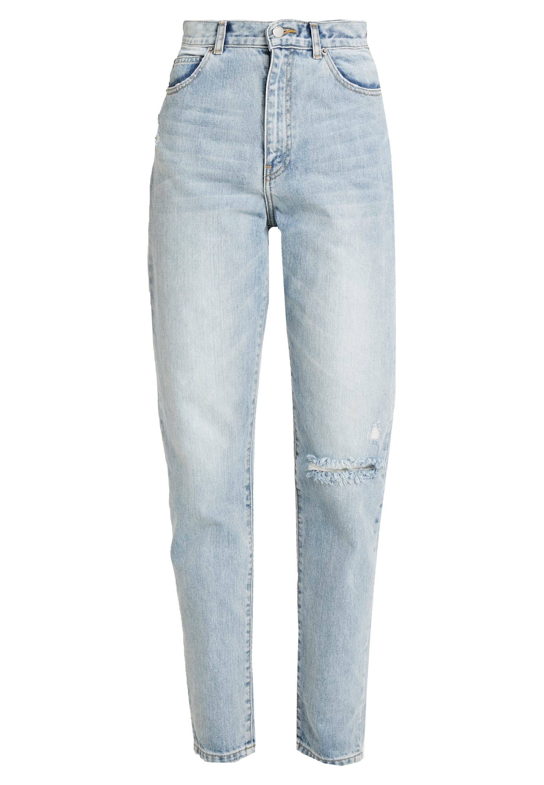 Dr.Denim Tall NORA - Jeansy Relaxed Fit - downtown ripped blue