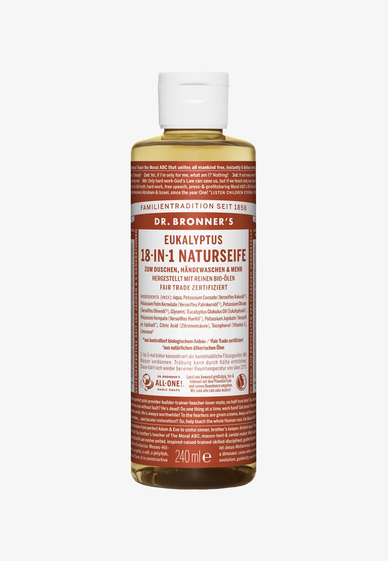 Dr. Bronner´s - 18-IN-1 NATURAL SOAP 240ML - Docciaschiuma - eukalyptus