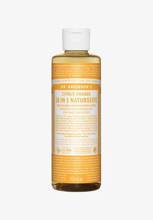 18-IN-1 NATURAL SOAP 240ML - Shower gel - zitrus-orange
