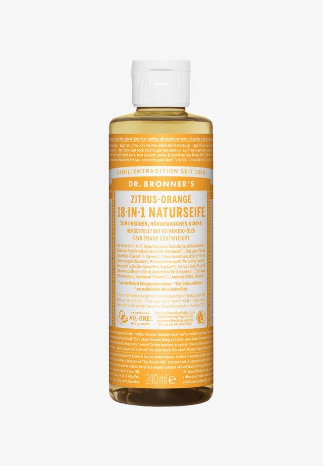 18-IN-1 NATURAL SOAP - Żel pod prysznic - zitrus-orange