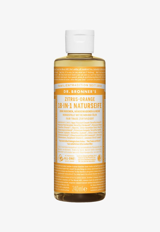 18-IN-1 NATURAL SOAP - Docciaschiuma - zitrus-orange