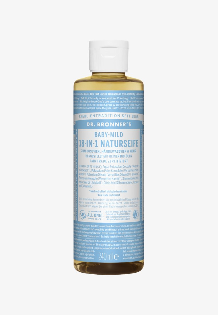 Dr. Bronner´s - 18-IN-1 NATURAL SOAP 240ML - Shower gel - baby mild