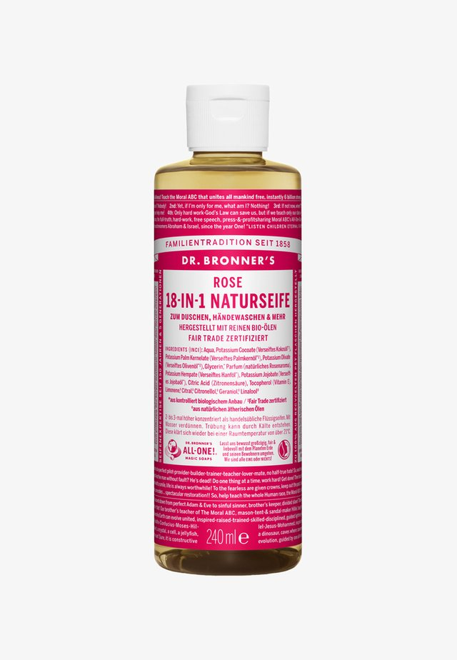 18-IN-1 NATURAL SOAP - Docciaschiuma - rose