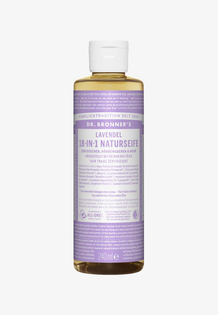 Dr. Bronner´s - 18-IN-1 NATURAL SOAP 240ML - Shower gel - lavendel