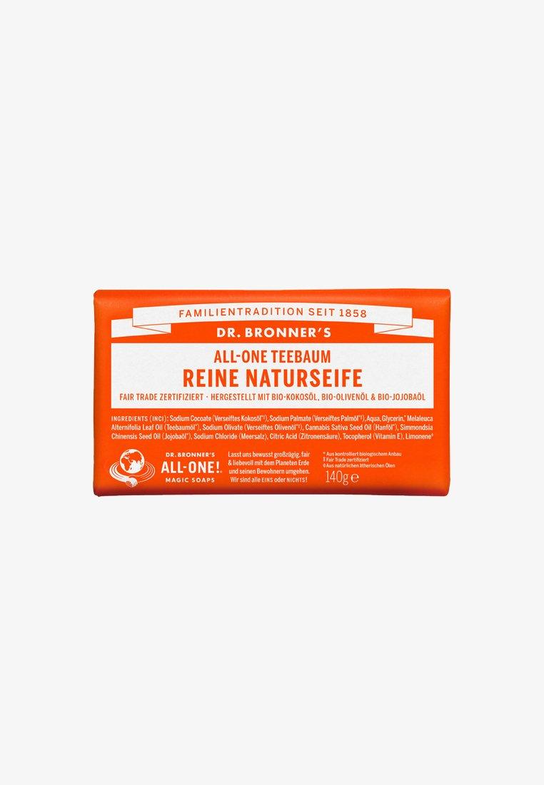 Dr. Bronner´s - PURE NATURAL SOAP 140G - Soap bar - teebaum