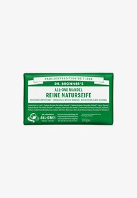 Dr. Bronner´s - PURE NATURAL SOAP 140G - Mydło w kostce - mandel - 0