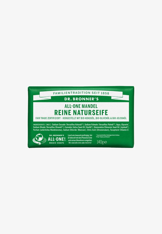 PURE NATURAL SOAP 140G - Fast tvål - mandel