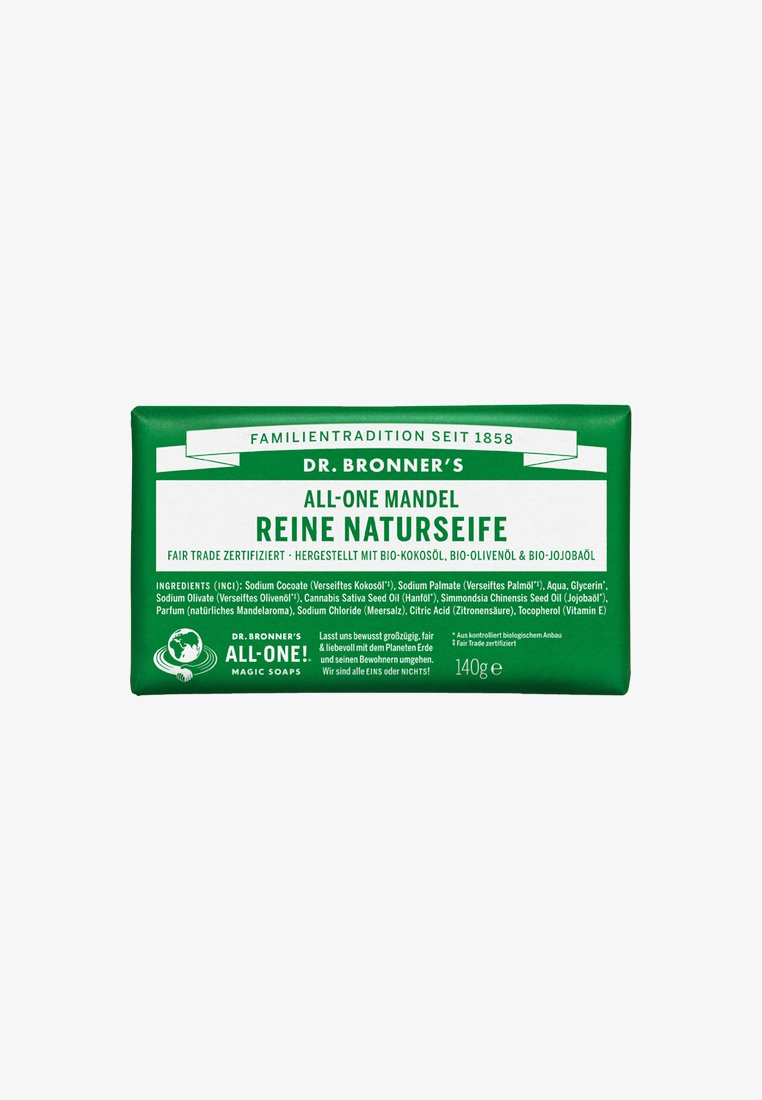 Dr. Bronner´s - PURE NATURAL SOAP 140G - Mydło w kostce - mandel