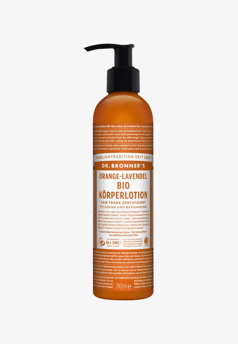 Dr. Bronner´s - BIO BODY LOTION 240ML - Moisturiser - orange-lavendel