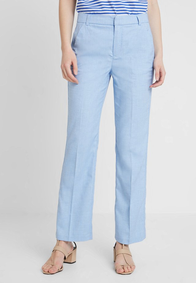 CENTURY PANTS RACHEL - Trousers - chambray blue