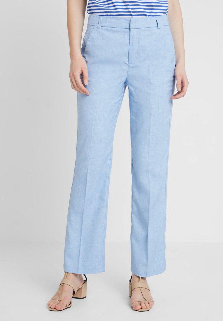 Dranella - CENTURY PANTS RACHEL - Stoffhose - chambray blue