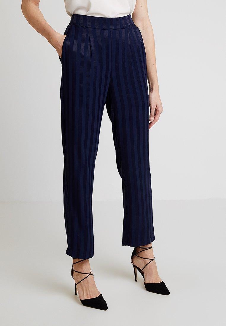 Dranella - DRCYRA PANTS - Trousers - eclipse blue