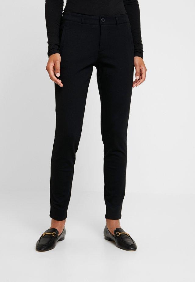 ILANO PANTS TESSA - Pantaloni - black