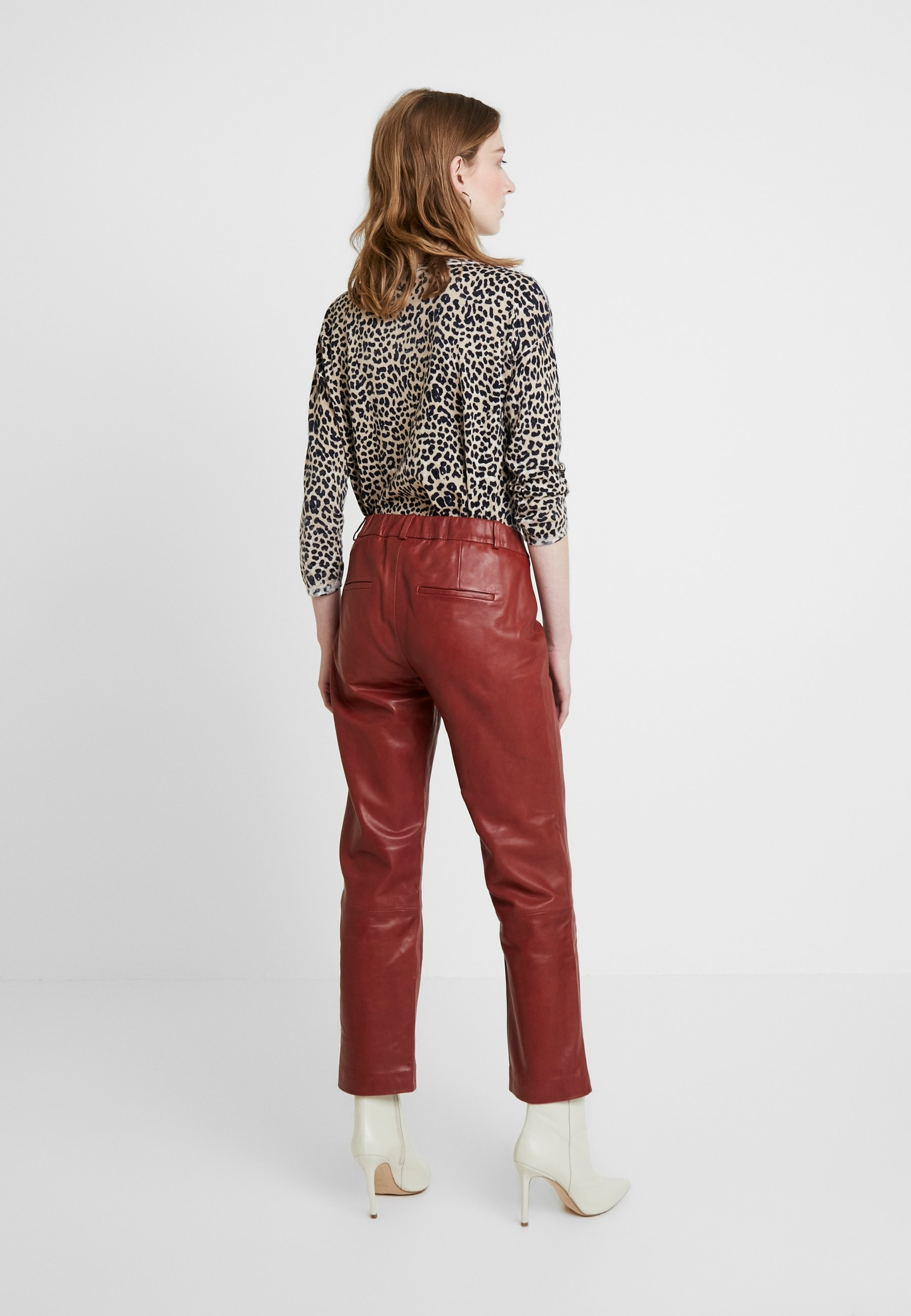 Pants Dranella Fashion Evi Spiced Di FitPantaloni Pelle Apple dxBCeoWEQr