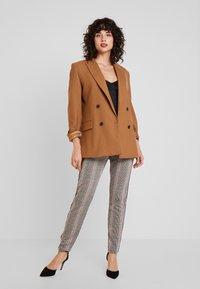 Dranella - FANGO PANTS FASHION FIT - Spodnie materiałowe - beige - 2