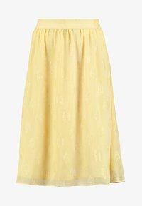 Dranella - SKIRT  - A-snit nederdel/ A-formede nederdele - banana cream - 3