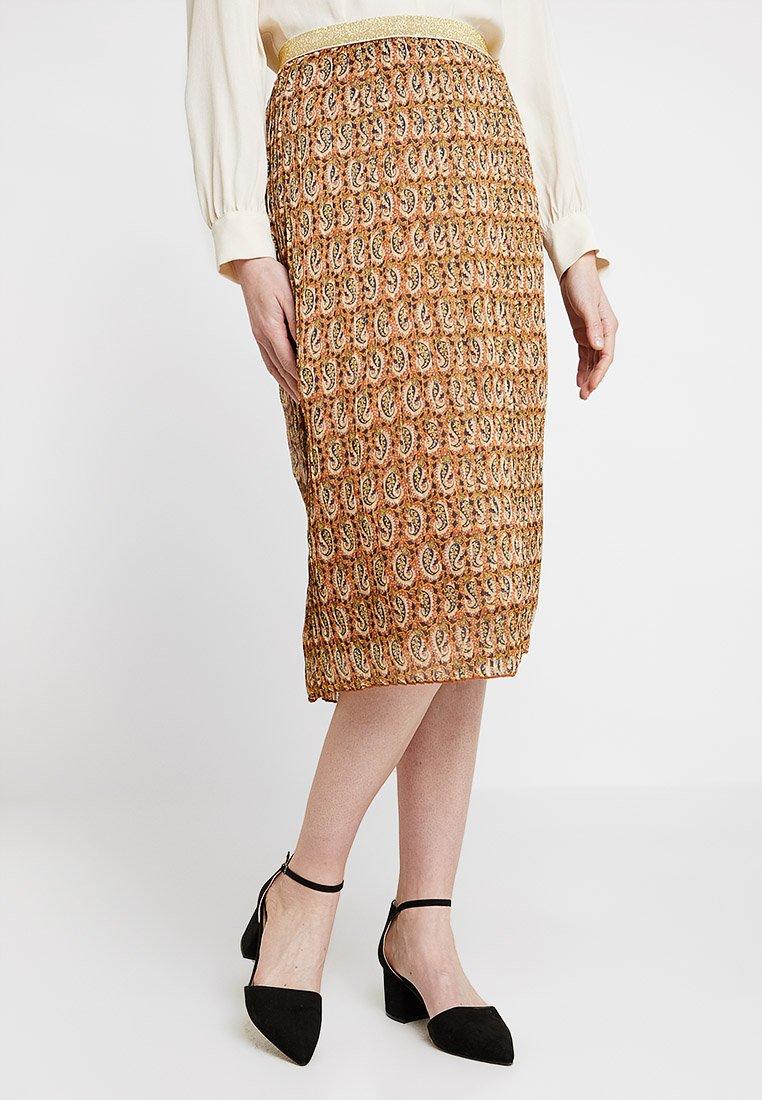 Dranella - DANNY SKIRT - A-line skirt - metallic red