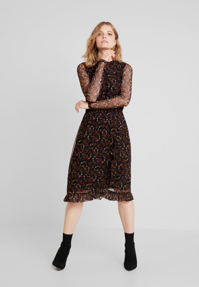 DREVILIA DRESS - Jerseyjurk - black