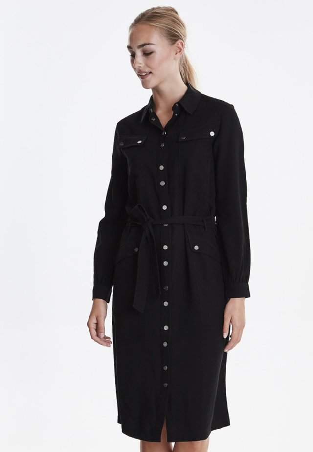 DRFARCY - Vestido camisero - black