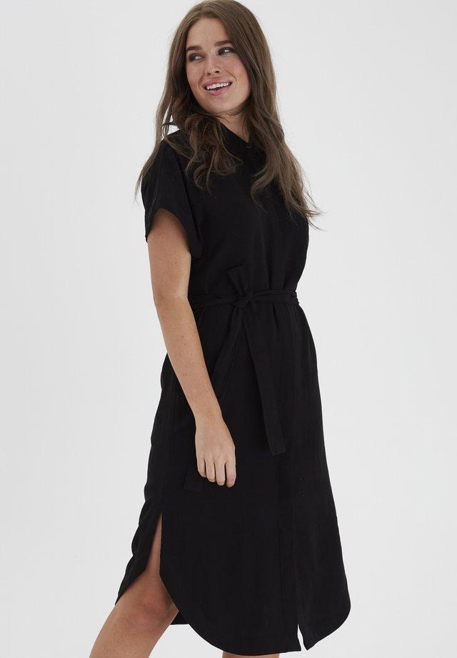 DRJARCY 4 DRESS - - Shirt dress - black