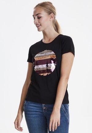 DRFIPUR  - Print T-shirt - black