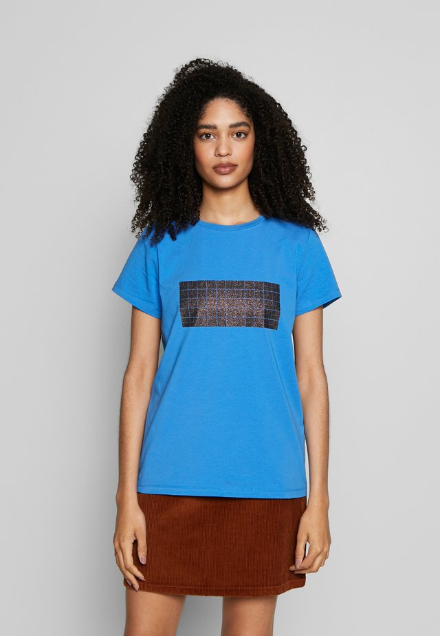 TEE - T-Shirt print - palace blue