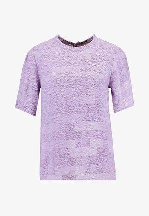 BLOUSE - Blouse - lavender mix