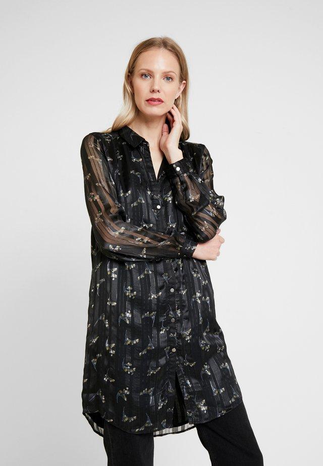 GERTRUDE LONG - Button-down blouse - black