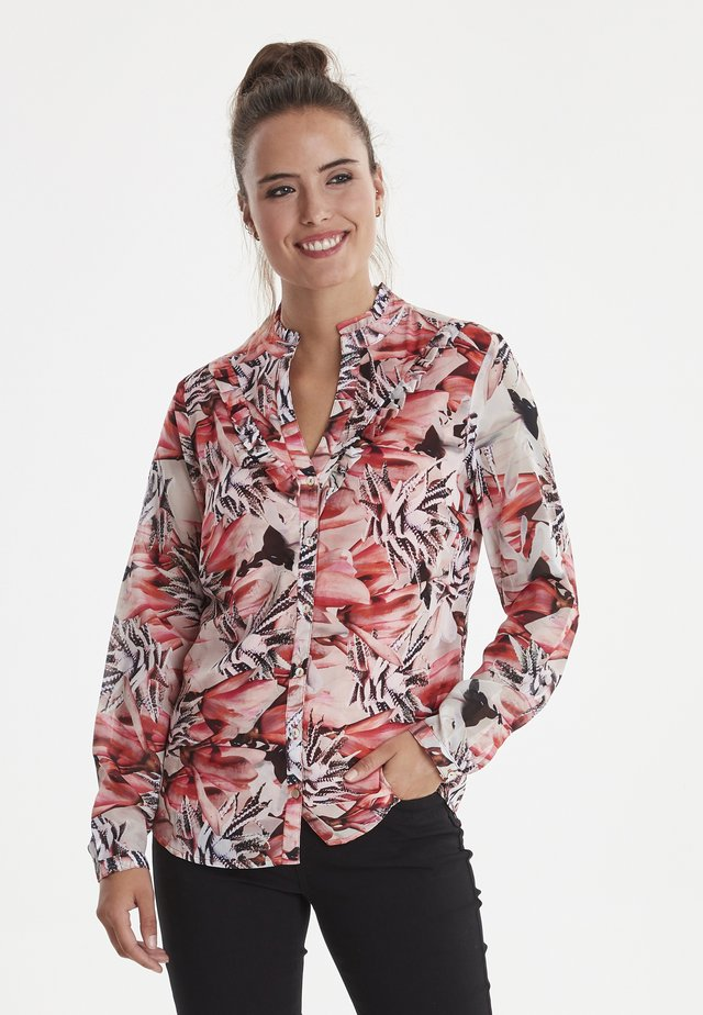 MOPEYA  - Button-down blouse - red