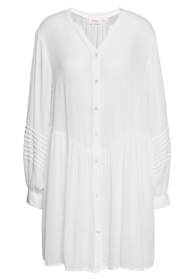 JESLIE TUNIC - Bluse - bright white