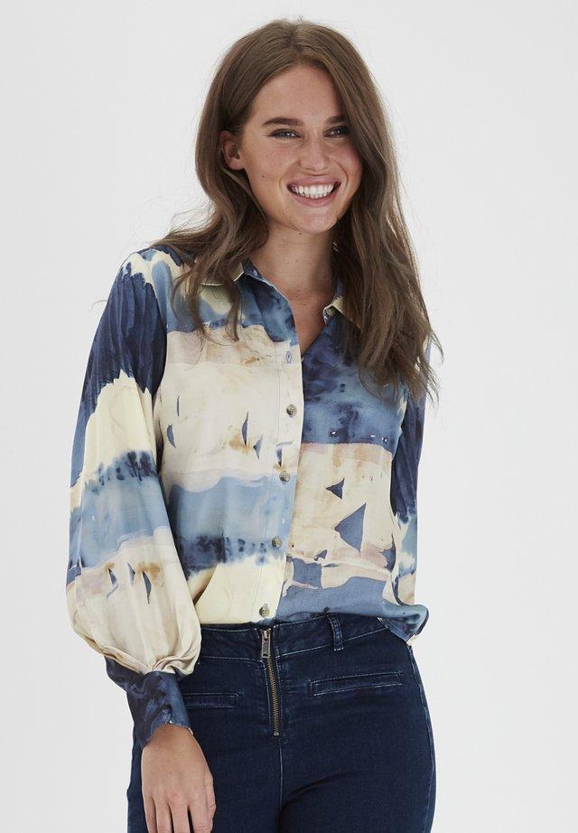 DRLAZY  - Button-down blouse - folkstone gray mix