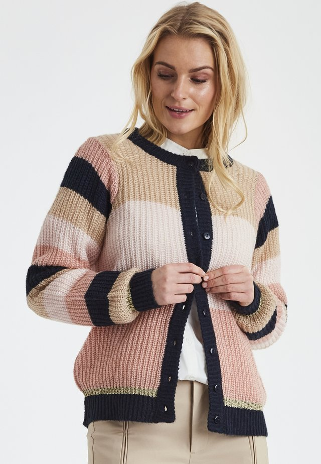 DRHALLY - Strickjacke - multicolor