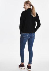 Dranella - DRFILENA  - Stickad tröja - black - 2