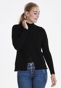 Dranella - DRFILENA  - Stickad tröja - black - 0
