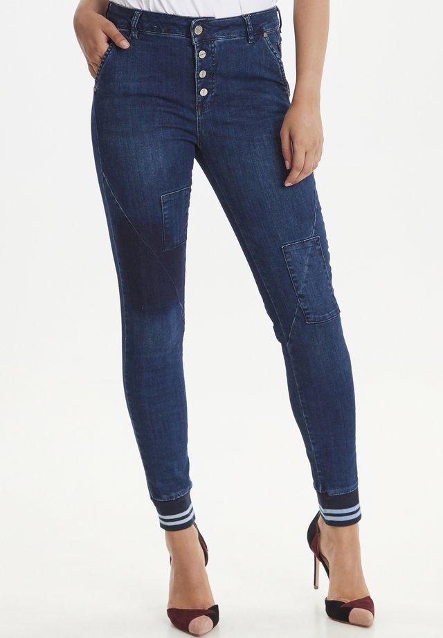 ZOFFEE - Jeans Skinny Fit - dark anchor blue