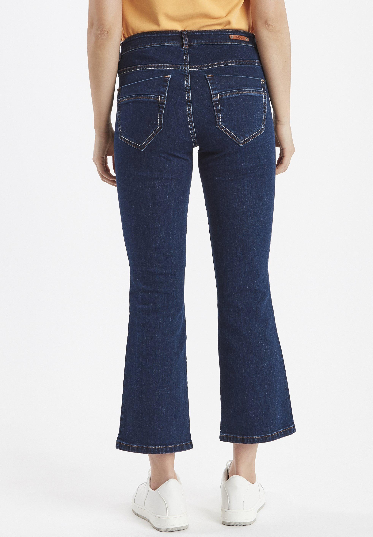 Dranella DRIHARRIET - Jeans a zampa - mid neptune blue PPQ5xsX3