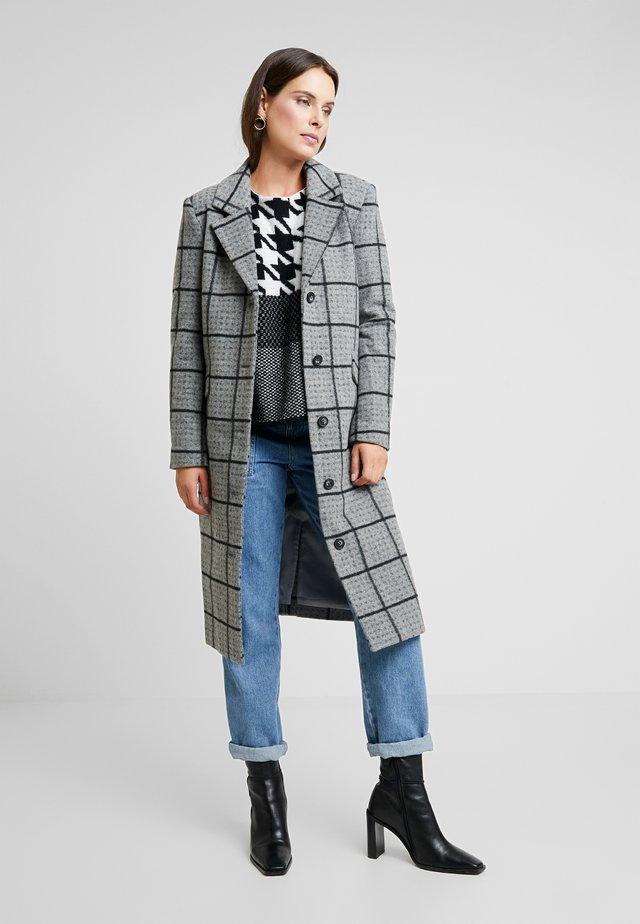 DREGITTA COAT - Classic coat - light grey melange