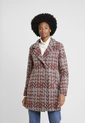 DRELINOR  - Classic coat - barn red mix