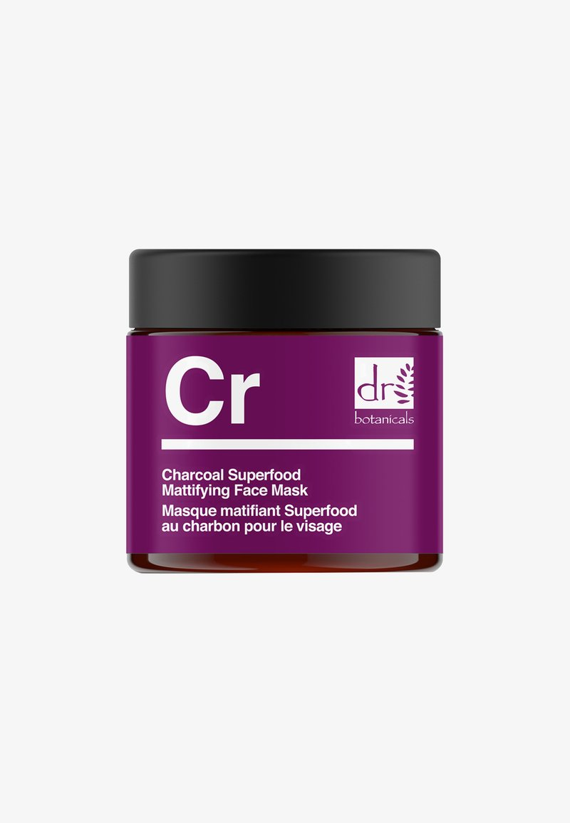 Dr Botanicals - CHARCOAL SUPERFOOD MATTIFYING FACE MASK 50ML - Masker - -