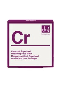 Dr Botanicals - CHARCOAL SUPERFOOD MATTIFYING FACE MASK 50ML - Masker - - - 1