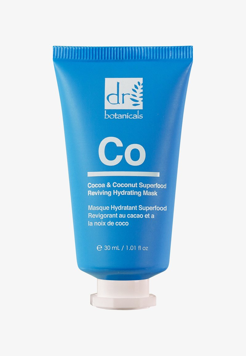 Dr Botanicals - COCOA & COCONUT SUPERFOOD REVIVING HYDRATING MASK 50ML - Face mask - -