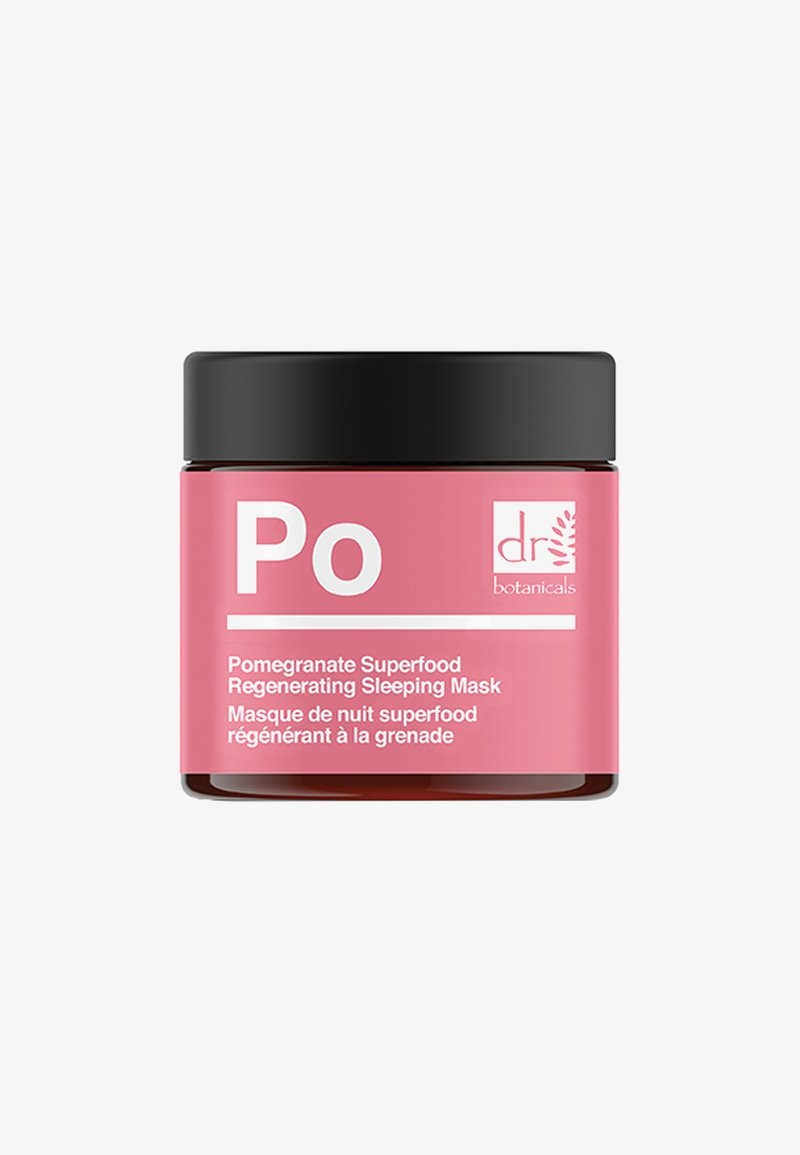 Dr Botanicals - POMEGRANATE SUPERFOOD REGENERATING SLEEPING MASK 50ML - Maschera viso - -