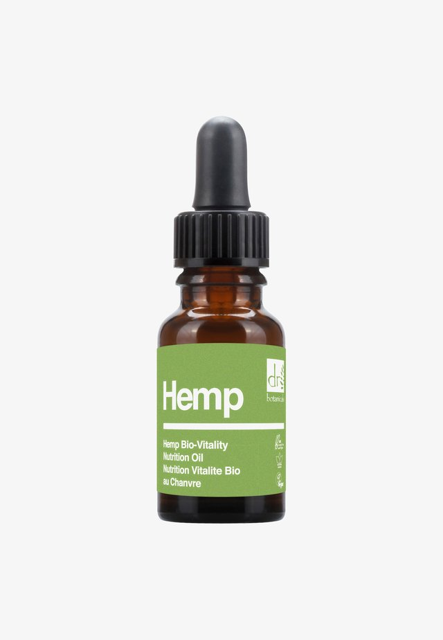 HEMP BIO-VITALITY NUTRITION OIL 15ML - Olio viso - -