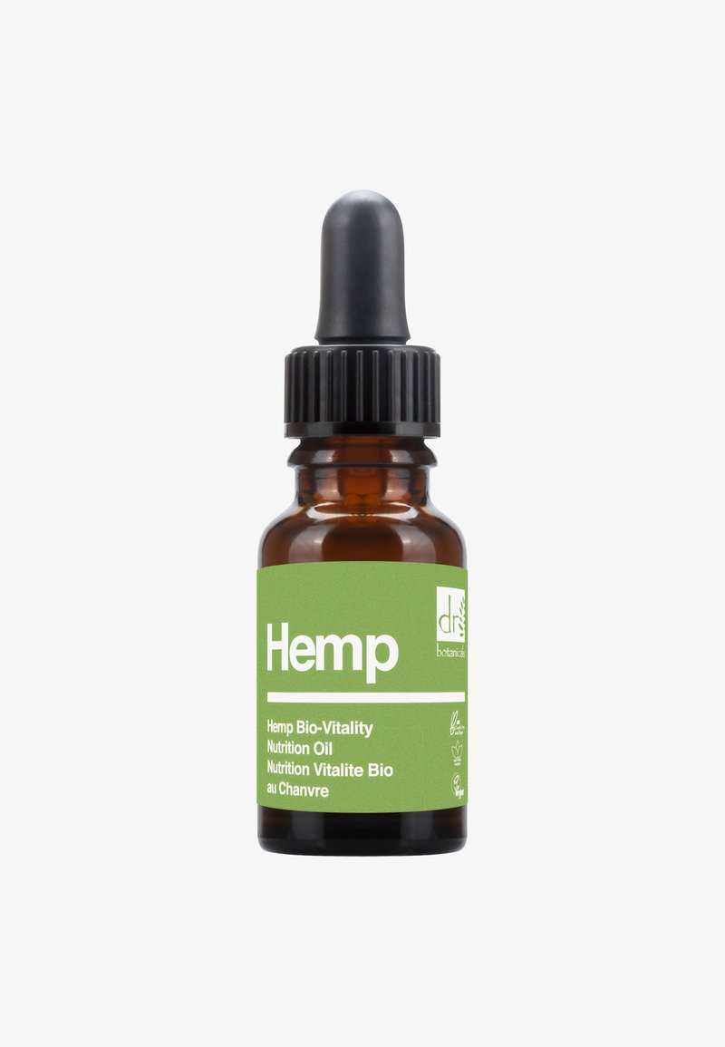 Dr Botanicals - HEMPBIO-VITALITY NUTRITION OIL 15ML - Olio viso - -