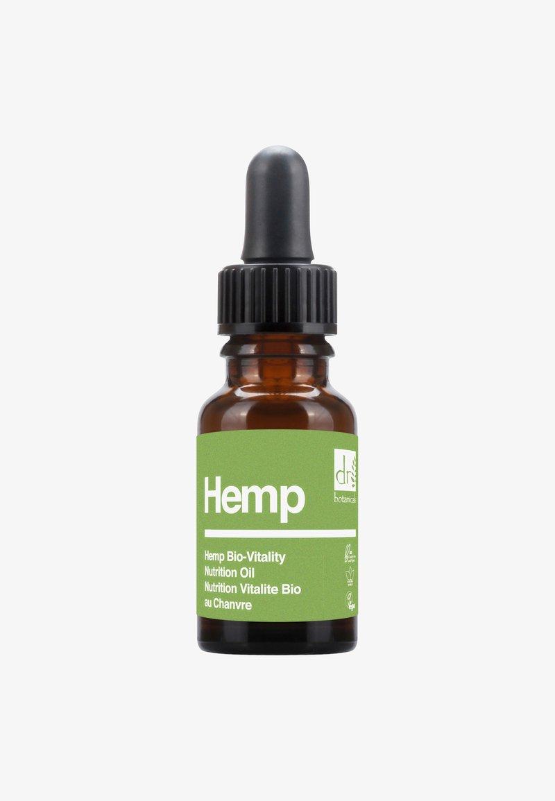 Dr Botanicals - HEMPBIO-VITALITY NUTRITION OIL 15ML - Gesichtsöl - -