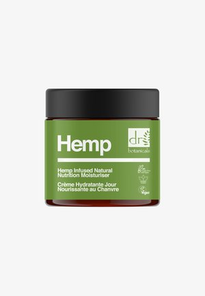 HEMP INFUSED NATURAL NUTRITION MOISTURISER 50ML - Dagcrème - -